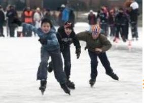 Weiland omtoveren tot publieke ijsbaan
